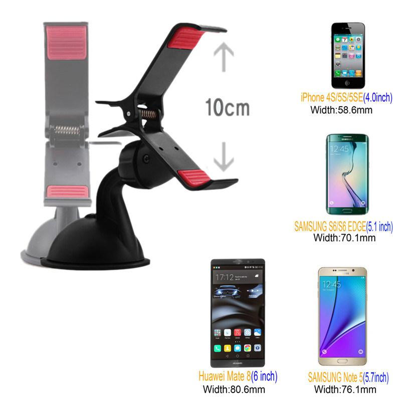 Hot Windshield Mount Universal Car Holder Car Mobile Phone Holder