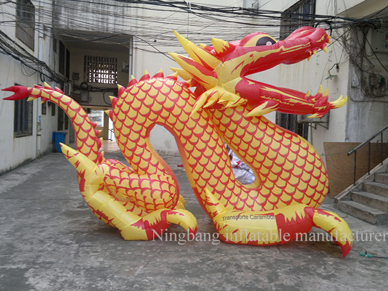 2016 Giant Inflatable Advertising Equipment Inflatable Chinese Dragon for Celebration