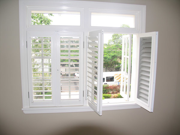 Energy Saving Double Plastic Vinyl PVC / UPVC Casement Glass Window