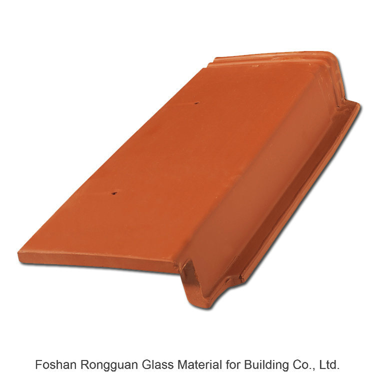 Clay Roof Tile Interlocking Water Proof Roof Tile (R1-C201)