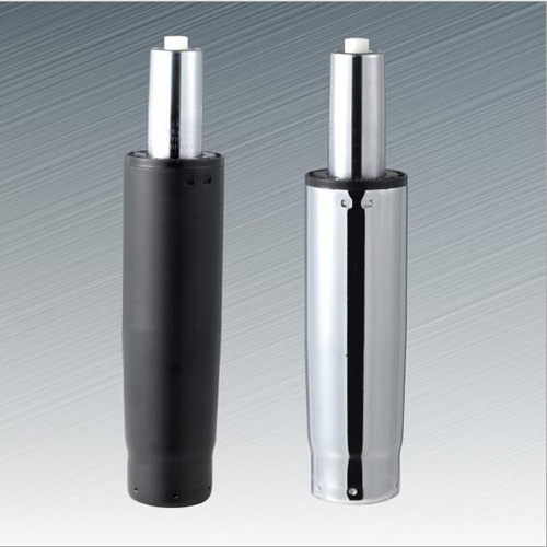 Black and Chrome Gas Strut for Swivel Chair