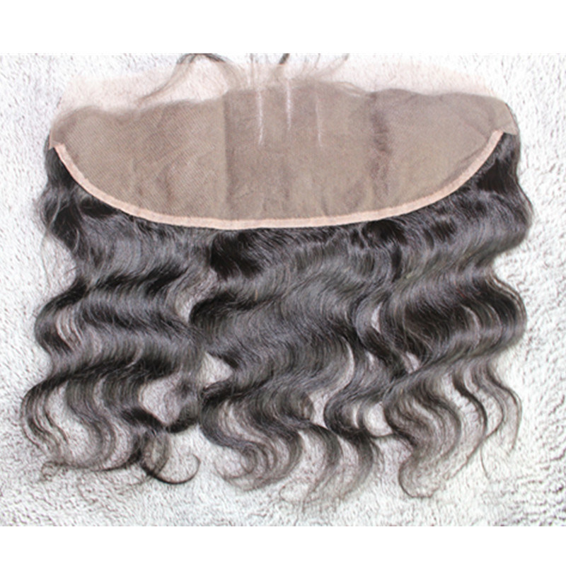 Brazilian Hair Body Wave Three Part Lace Frontal with Baby Hair