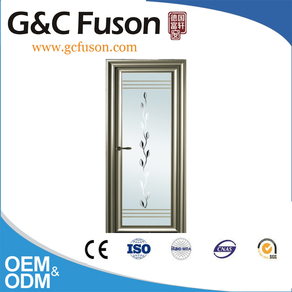 China Suppliers Champagne Color Single Aluminium Doors in Kenya