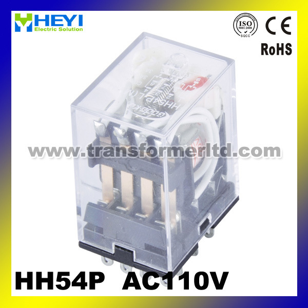 Hh54p (MY4) General Purpose Relay, Mini Electromagnetic Relay