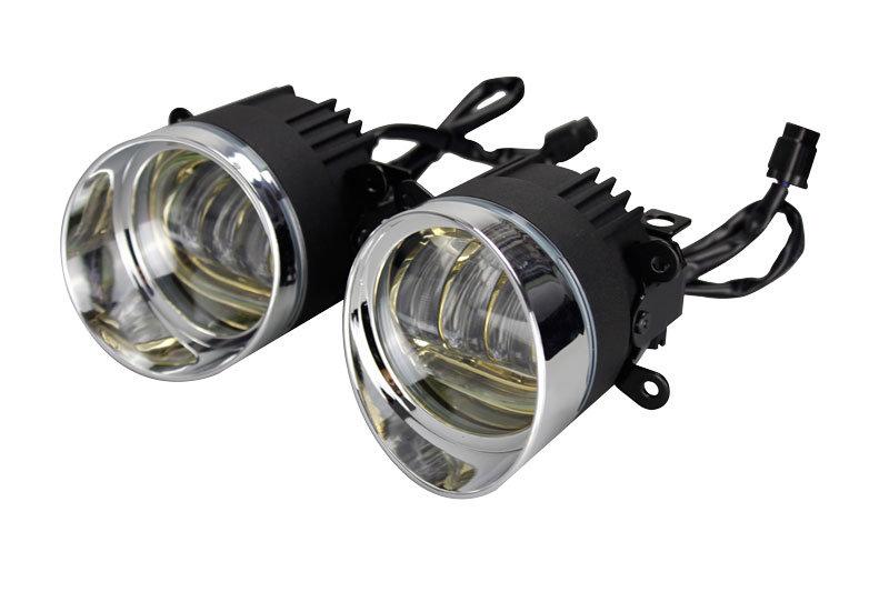 Markcars Round DRL Amber LED Fog Lamp