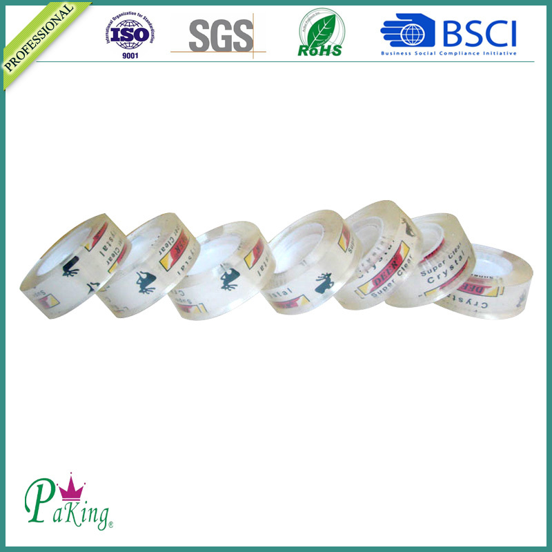 Popular Quality Crystal Clear Stationery Tape