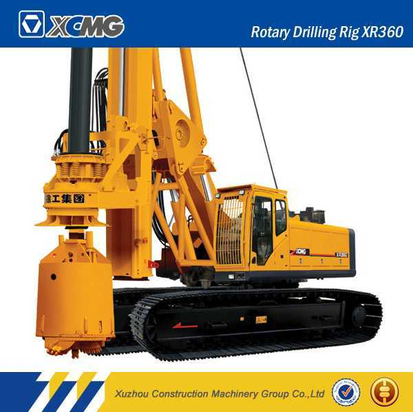 XCMG Official Manufacturer Xr360 Rotary Drilling Rig