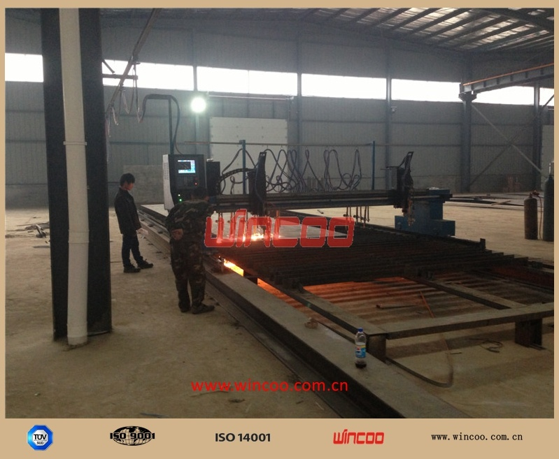 CNC Flame/Strip Oxy-Fuel Cutting Machine for Steel Plate Profiling