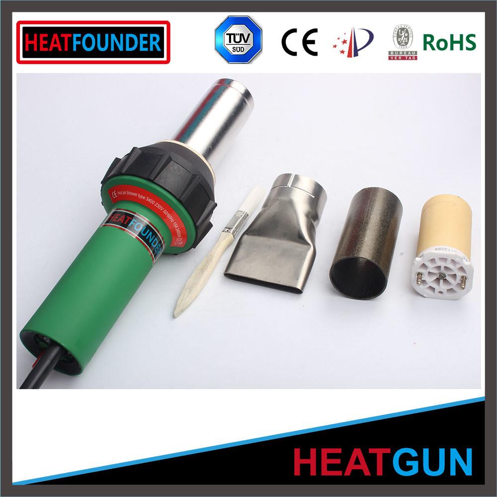 3400W Plastic Welder Gun Nozzle Heat Element Hot Air Gun