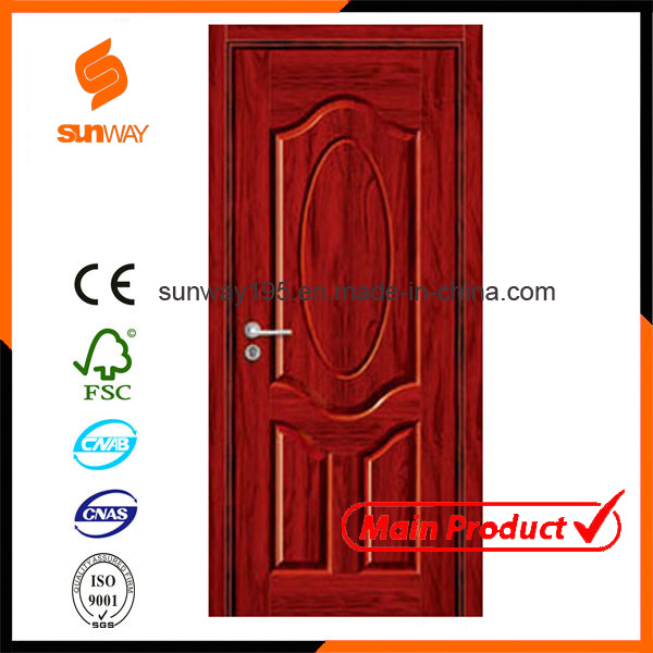 Hot Sale Interior PVC Wooden Door with Competitive Price