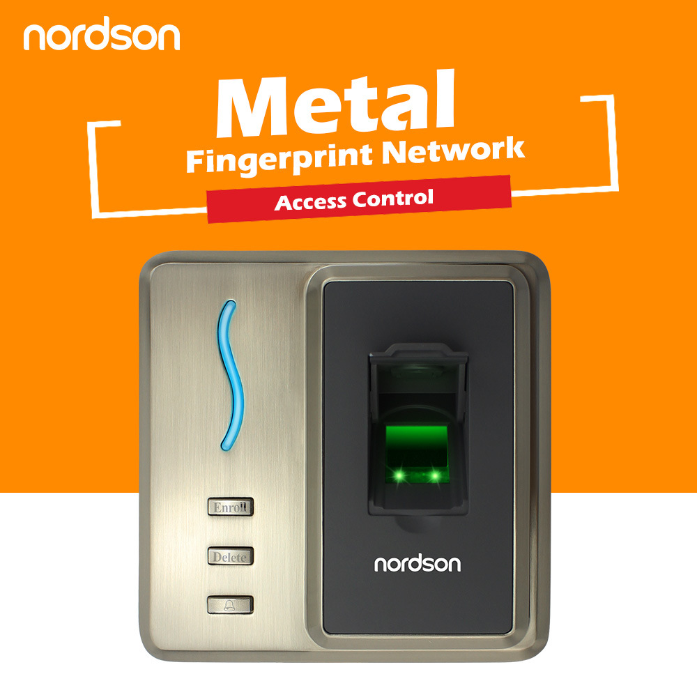 Metallic Casing Design Professional Biometric RFID Time Attendance Fingerprint Access Control with Wiegand Output