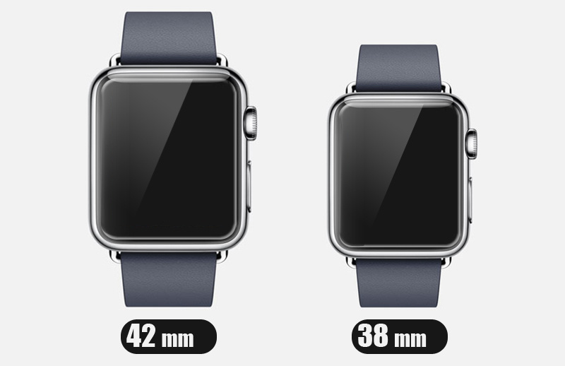 9h Hardness 38mm / 42mm Tempered Glass Screen Protector for Apple Watch