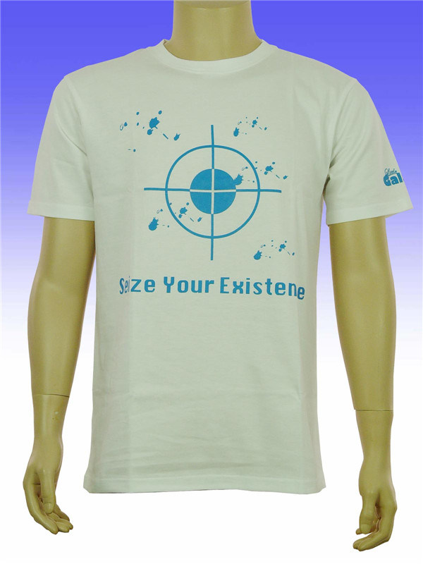 Custom Fashion High Quality CVC T-Shirt for Men