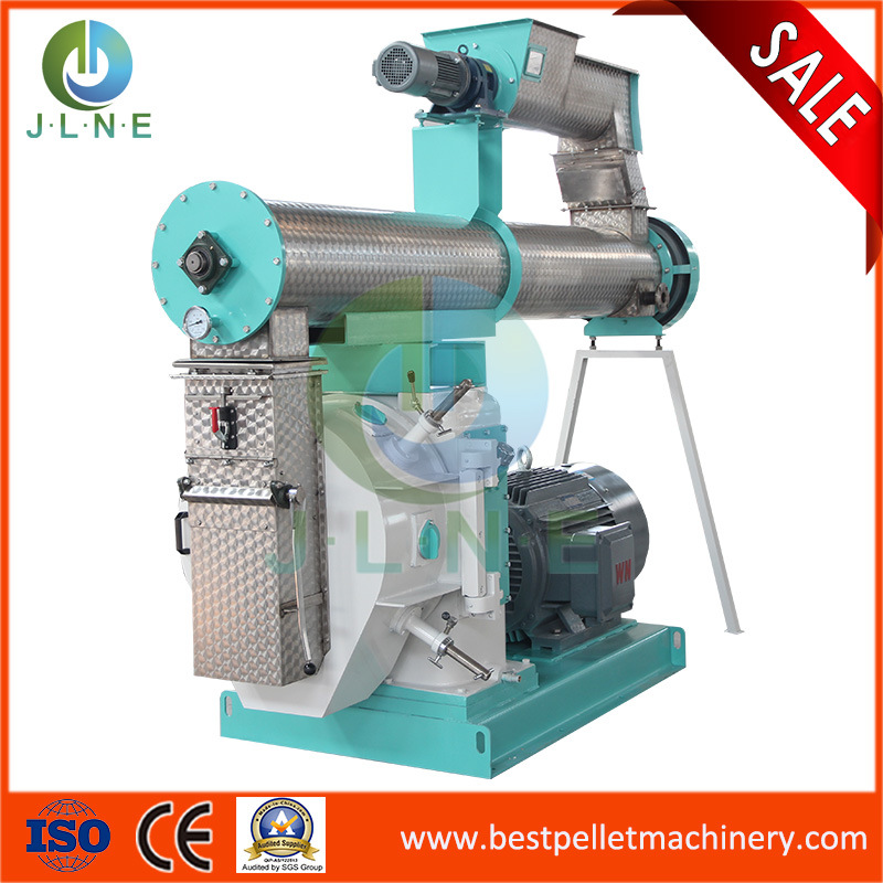Top Manufacture Animal/Poultry/Cattle/Rabbit/Chicken/Fish Feed Pellet Mill