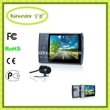 Dual Lens 2 Camera Rearview Mirror Camera Car DVR