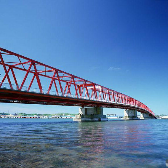 Wz-B005 Light Steel Structure Bridge Construction and Design