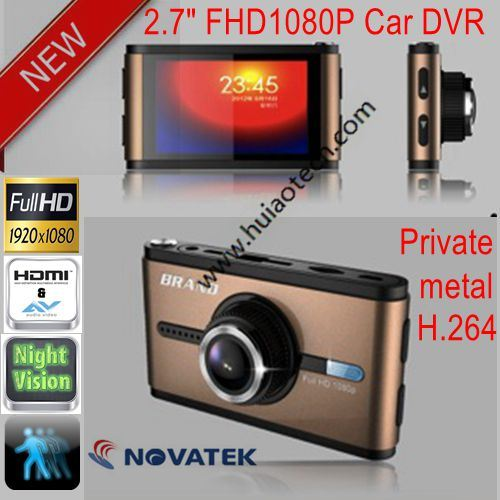 "Private Housing New 2.7""Full HD 1080P Car DVR with G-Sensor, Motion Detection, 6g CMOS Camera DVR-2725"