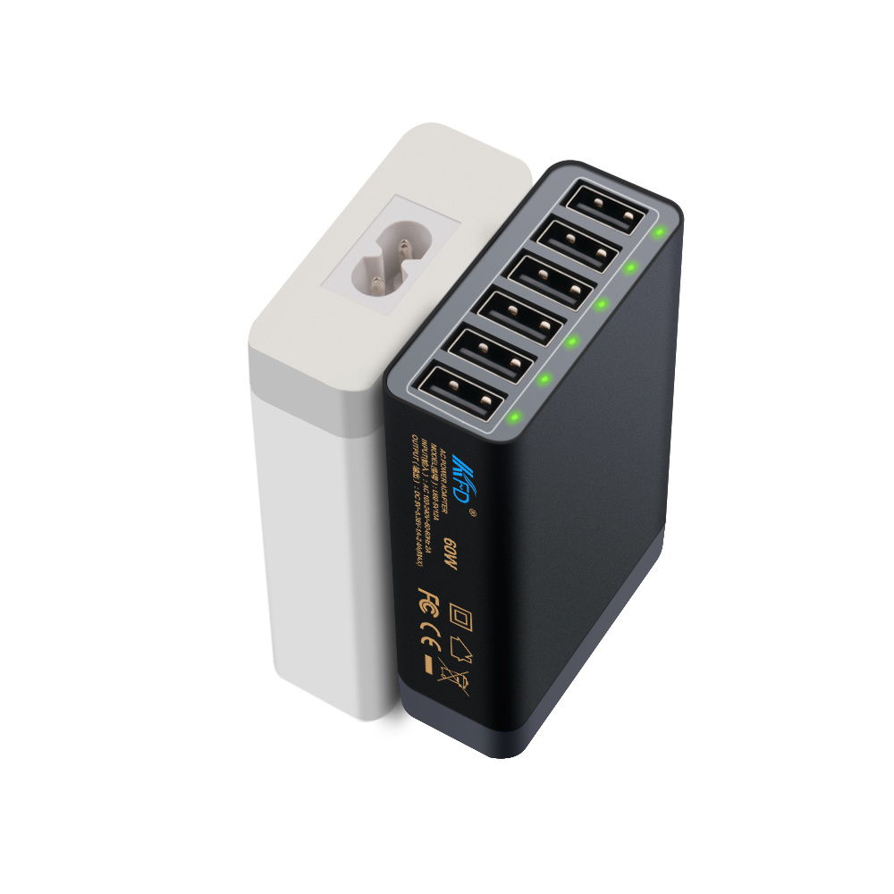 Universal 60W USB Charger for iPhone6s, 6, 6plus
