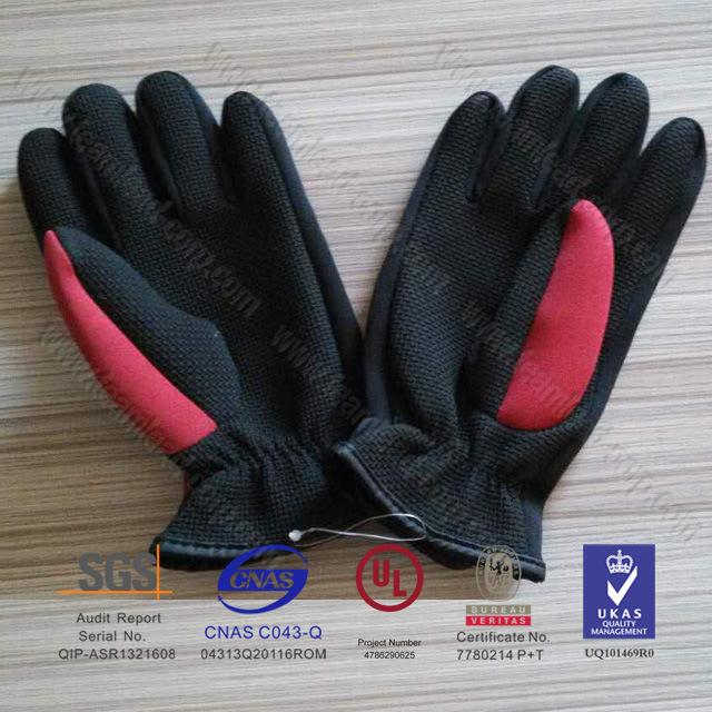Men′s Neoprene Diving Gloves Sports Gloves Surfing Gloves (QK-G02)