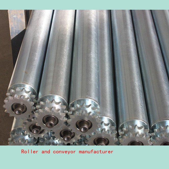 Steel Sprocket Roller Conveyor Roller
