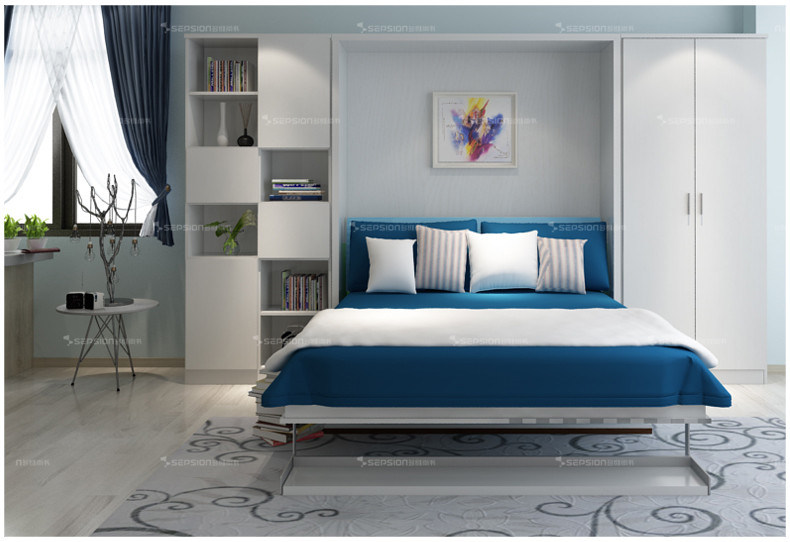 New Design Home Furniture Murphy Bed Folding Bed With Sofa