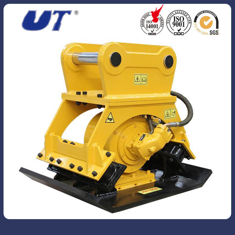 Excavator Hydraulic Rotating Plate Compactor