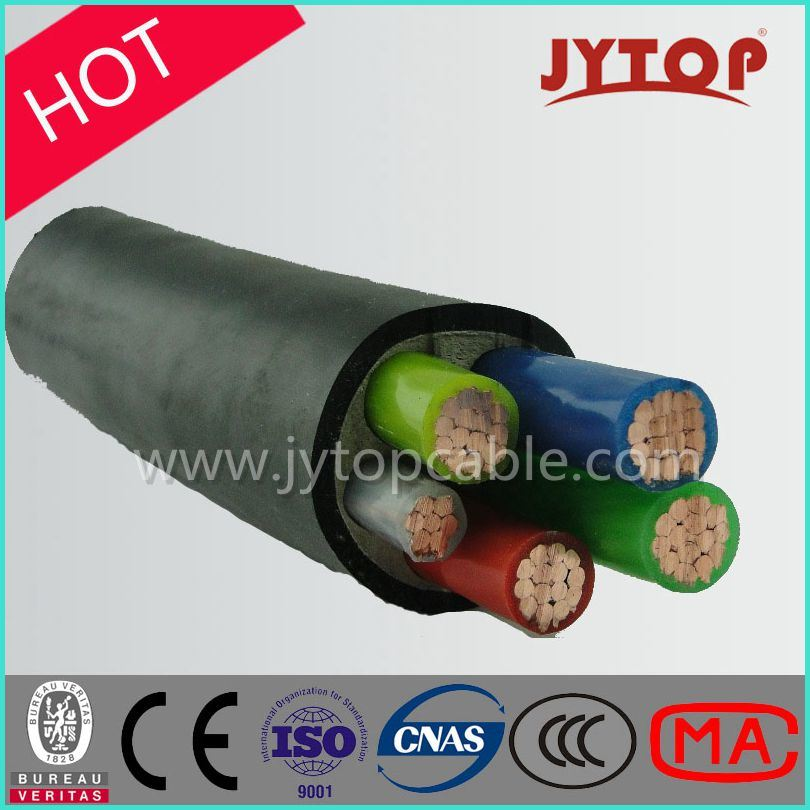 0.6/1kv 5 Core/Multicore Cable, XLPE Insulation Cable with Copper Conductor