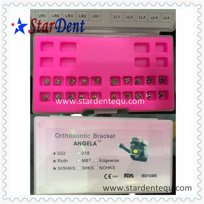 Hot Sale Dental Orthodontic Metal Roth Brackets