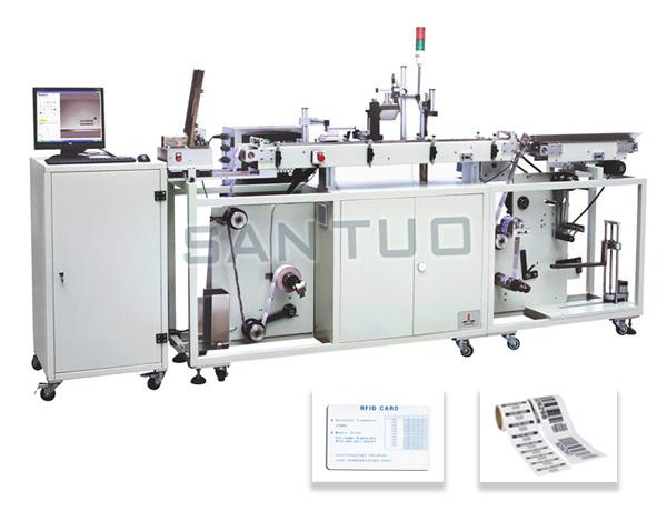 RFID Card Reading and Printing Machine