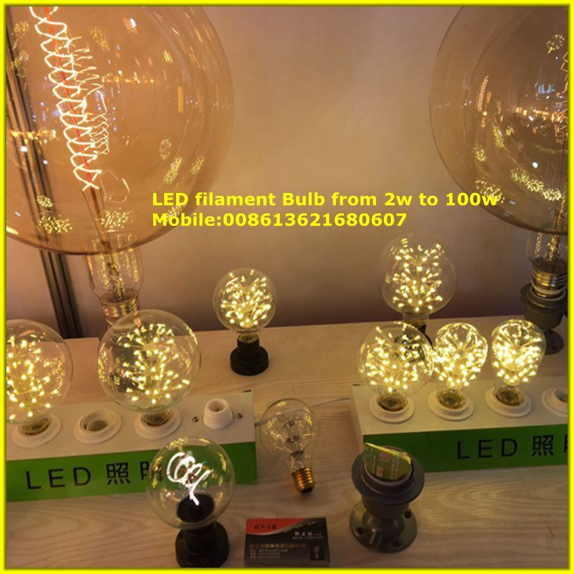 LED Filament Lamp with Competitive Price