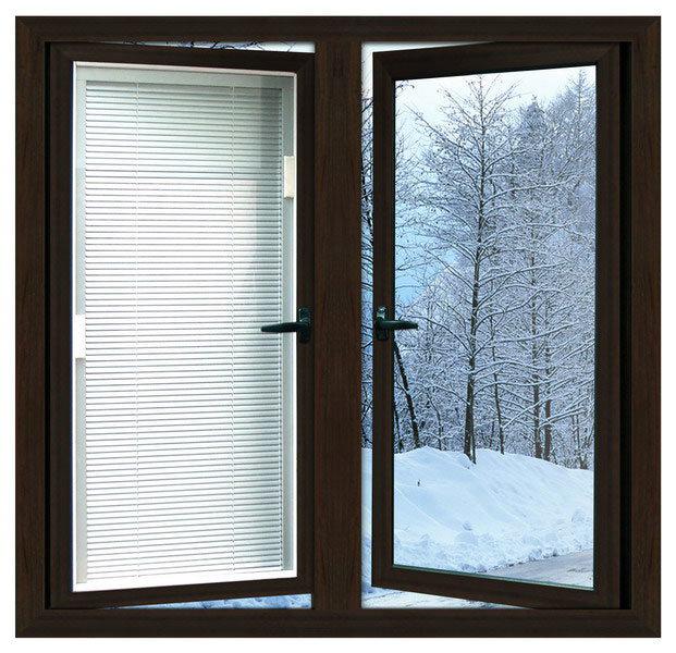 High Quality Aluminium Casement Window (Powder Coating/Anodizing/PVDF finish)