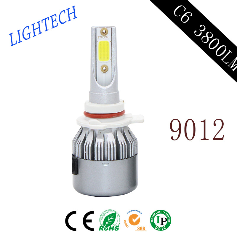 Super Bright Power Auto LED Headlight with Car Body Kit and HID Ballasts (H1 H3 H4 H7 H8 H9 H11 9005 9006 40W 4500lm)