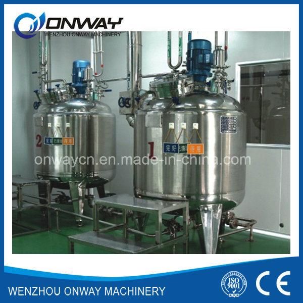 Factory Price Agitator Stirring Jacket Emulsification Stainless Steel Industrial Liquid Mixer Blender