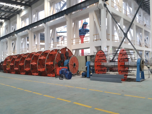 Vertical Laying-up Machine for Submarine Cable, Laying-up Machine