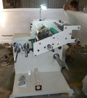 Label Slitting Machine with Two Changeable Shafts