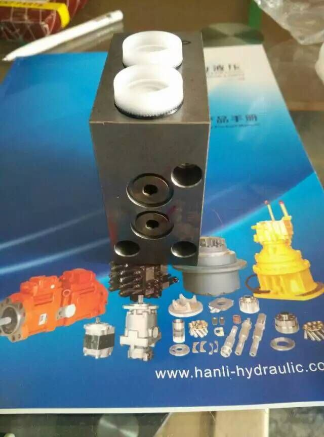Hydraulic Swing Motor Solenoid Brake Valve for Excavator