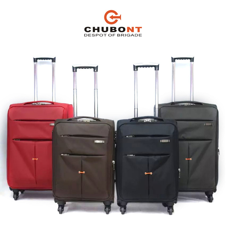 Xelibri 4PCS Built-in Trolley System Spinner Wheels Travel Suitcase