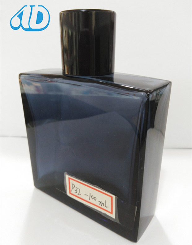 Ad-P32 Glass Perfume Bottle with Unobservable Pipette Magnet Lid