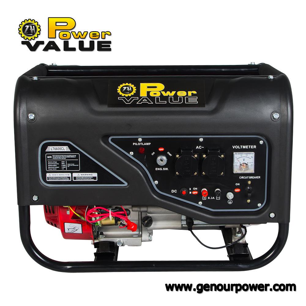 Low Price China Portable 2kVA 2.5kVA 2.8kVA 3kVA 4kVA 5kVA 6kVA LPG Generator (ZH2500LPLV)