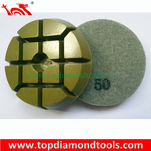 Concrete Floor Diamond Resin Polishing Pads