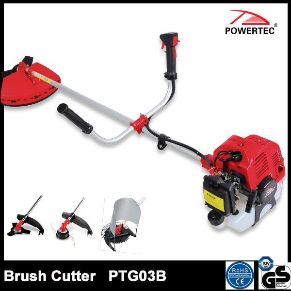 Powertec CE GS 43cc Gas Brush Cutter (PTG03B)