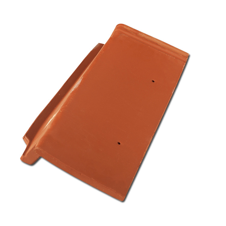 Double Roman Tile Roofing Sheet Clay Roof Tile (R1-W006)