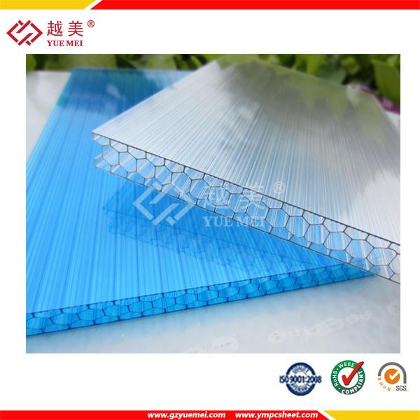 Ten Years Warranty 1.5mm to 25mm Flat Polycarbonate Sheet