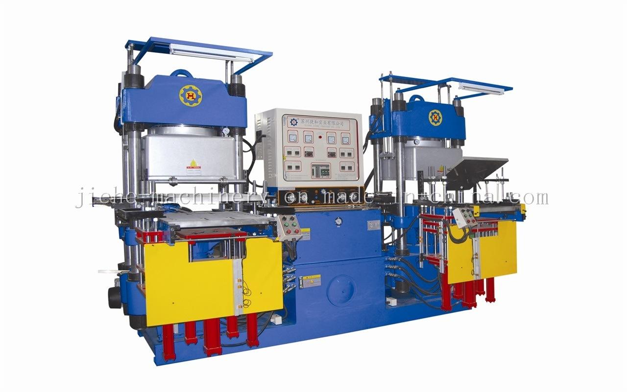 Vacuum Silicone Rubber Compression Molding Hydraulic Press Machine Made in China