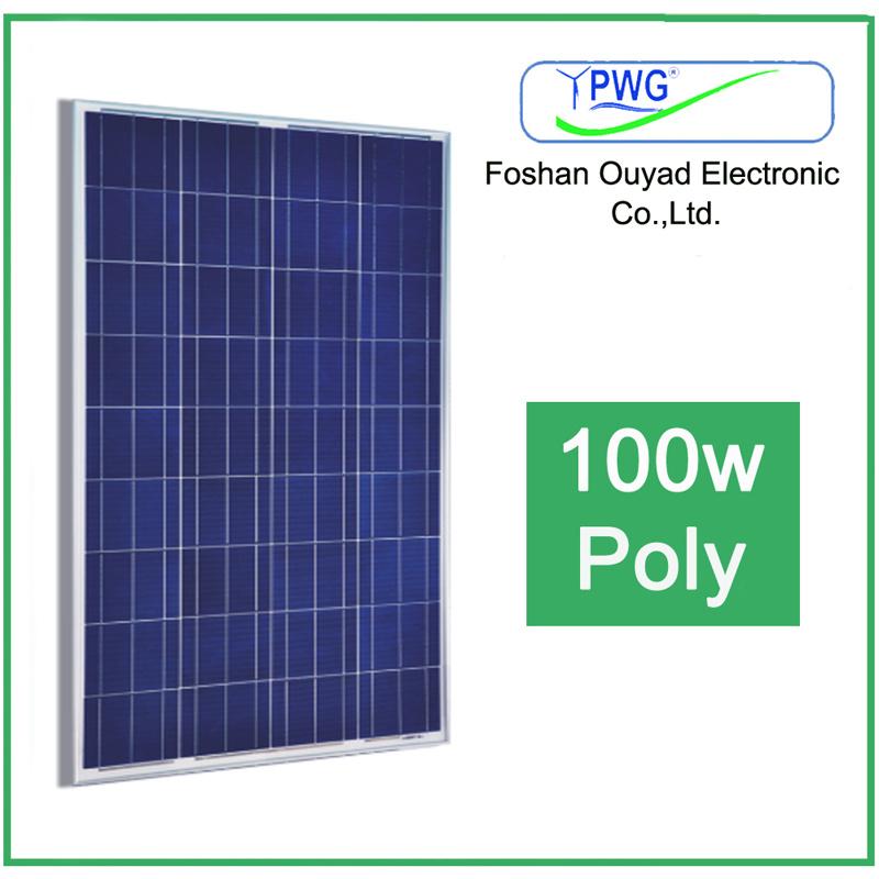 100W Polycrystalline Solar Module