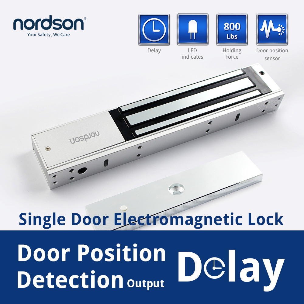 Hot Sale 600lbs Electromagnetic Lock and Electronic Door Lock for Safe with Signal Output Manufacturer