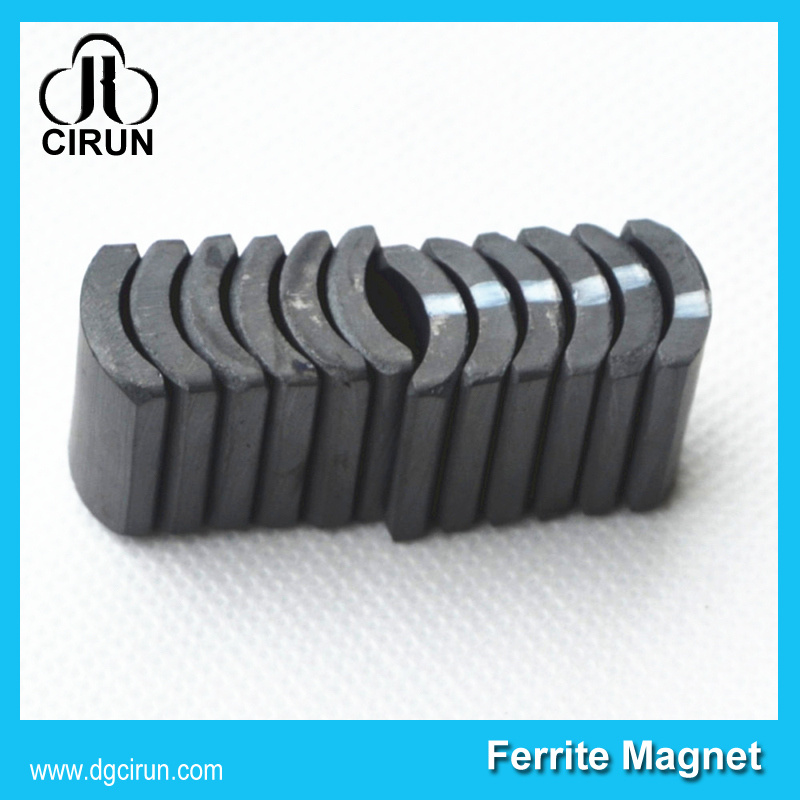 Wholesale 380 390 Arc Ferrite Motor Magnet