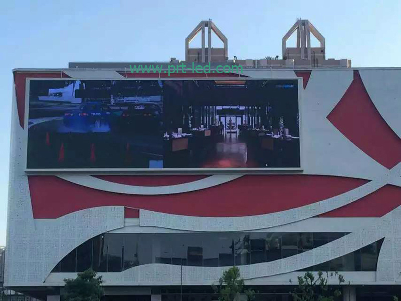 Outdoor P8 Digital Advertising Display Board with SMD3535 LEDs