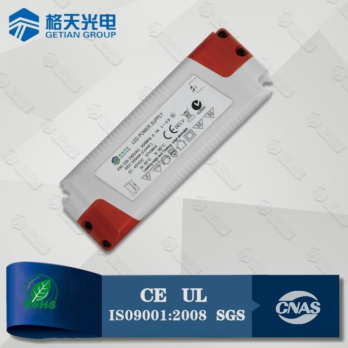 200-240VAC Input 1050mA 42W LED Power Supply