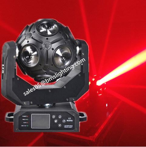 12 PCS CREE RGBW LED Football Effect Light